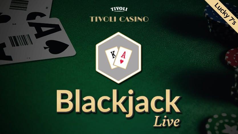 Blackjack Live giver 500 kr. hos Tivoli Casino