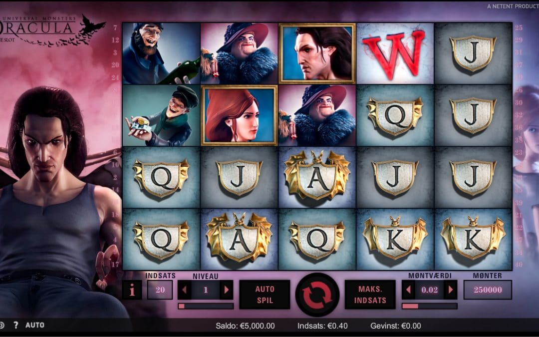 Dracula spilleautomat