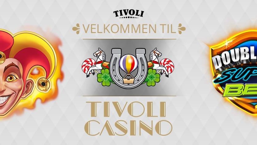 1.000 kr. velkomstbonus hos Tivolicasino.dk