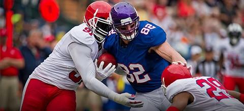 NFL odds og profitboost hos LeoVegas Sport
