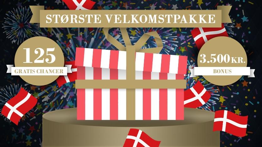 TivoliCasino.dk 125 freespins gratis bonus med bonuskode