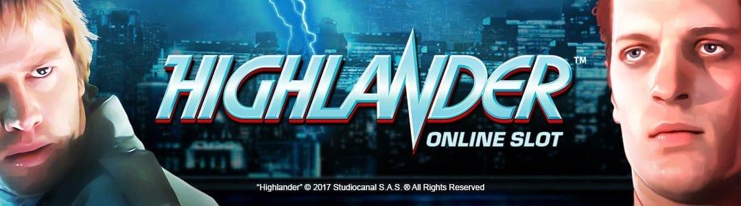 Vind €40.000 på den nye Highlander™ spillemaskine