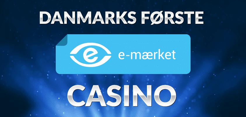 Det første online casino med E-mærket