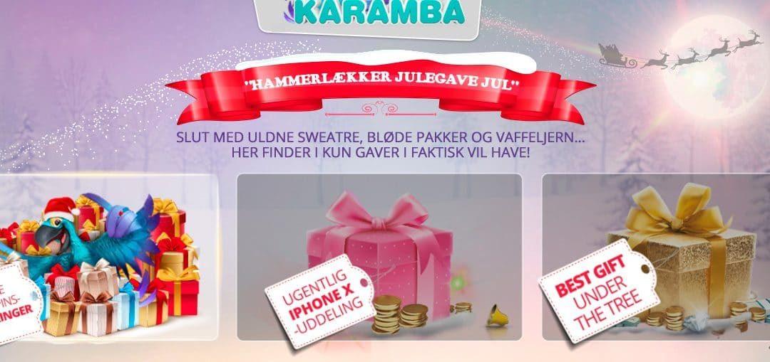 Få bonustilbud og free spins i casino julekalender | KarambaDK