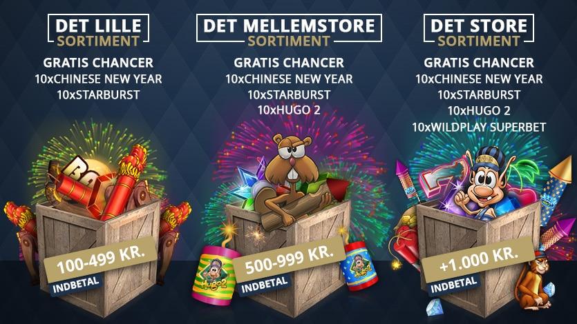 2.018 kr. i nytårs bonus + free spins | Tivoli Casino