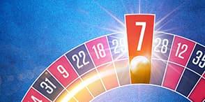 Lucky Number 7 giver €7 i casino belønning