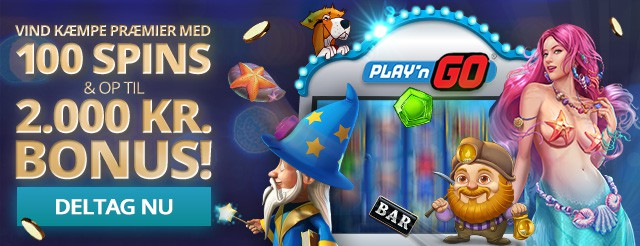 PLAY'n GO konkurrence – Vind gratis spins