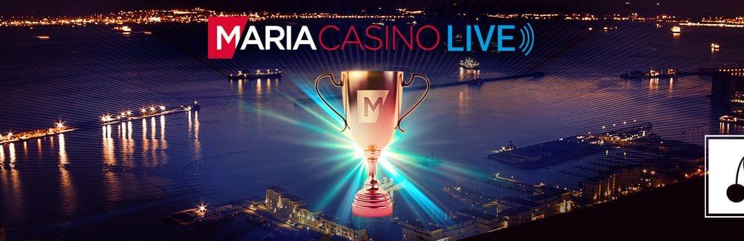 Deltag i Live Casino Grands Finals med Maria Casino