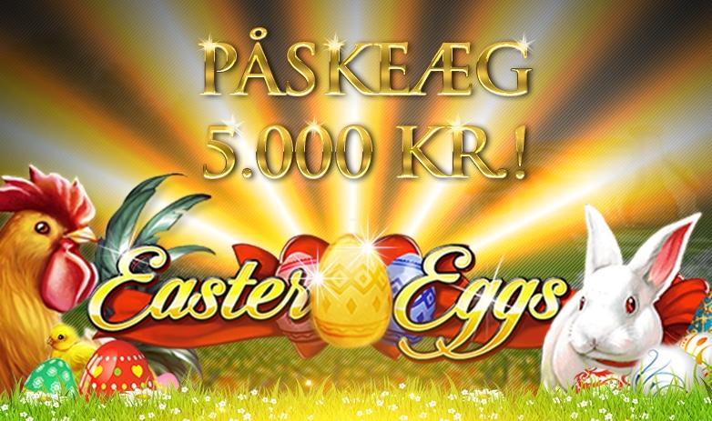 Spil på Easter Eggs og vind 5.000 kroner