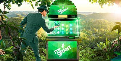 Få 25 freespins hver dag hos Mr Green Casino
