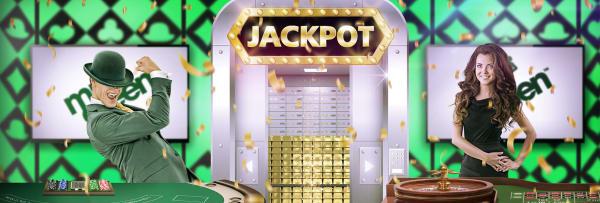 Vind Live Casino jackpot på 50.000kr