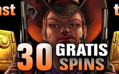 777.dk giver 30 free spins uden indskud