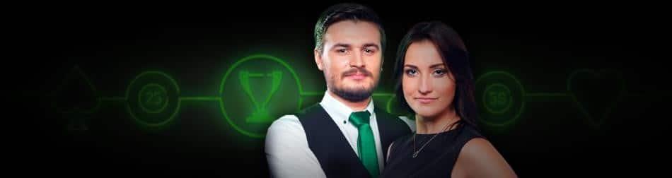 Præmier for 500.000 kr i live casino spil