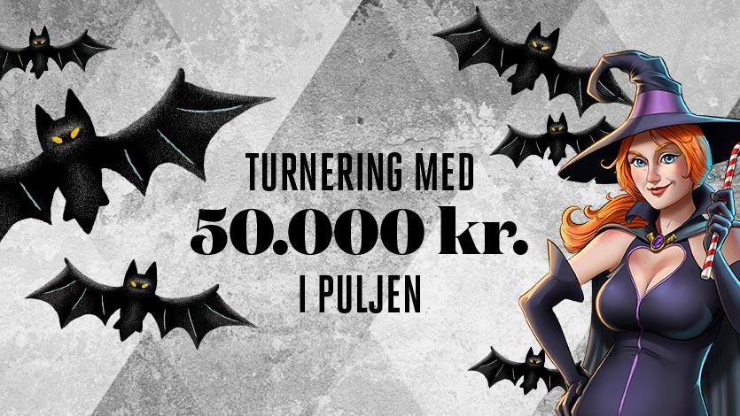 Halloween turnering på Tivolicasino.dk