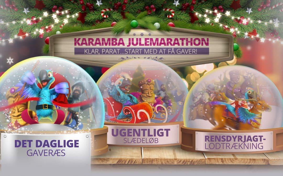 Daglige jule-bonusser hos Karamba