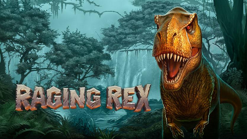 Prøv Raging Rex slot og få Gratis Chancer