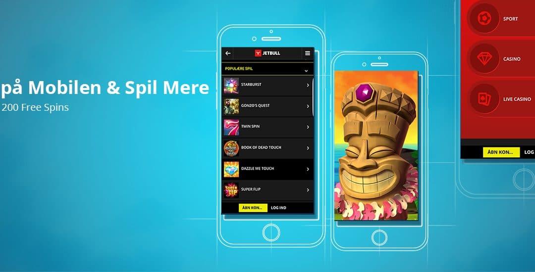Casino free spins til mobilen