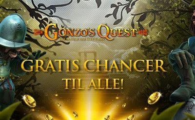 Nyoprettet bruger vinder kæmpe gevinst på Gonzo's Quest