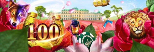 Forårs gevinster hos Mr Green Casino