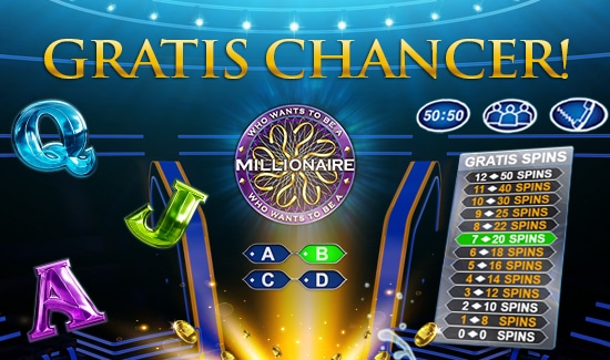 Gratis Chancer til Who Wants To Be A Millionaire