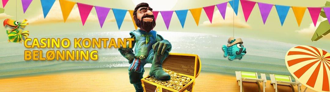 Casino points og kontante bonusser