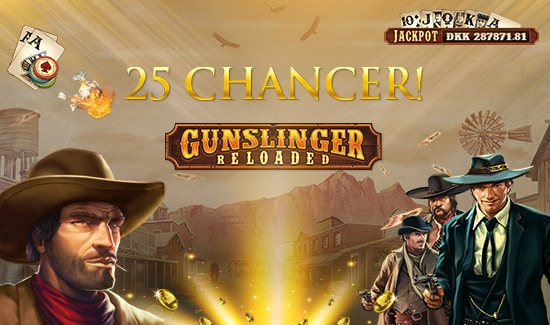Få free spins til Gunslinger Reloaded