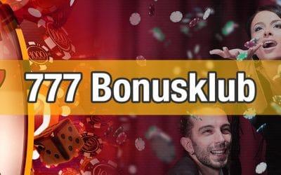 Onsdagsbonus i bonusklubben hos 777.dk