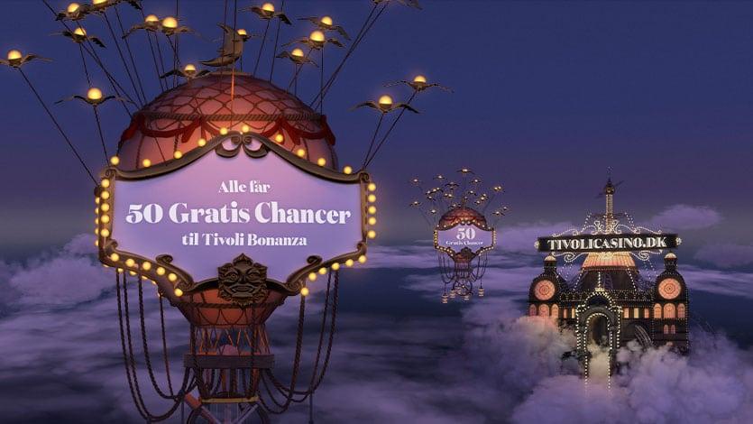 Spil på Tivoli Bonanza og få 50 Gratis Chancer