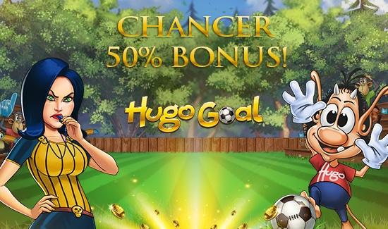 Chancer og bonus til Hugo Goal