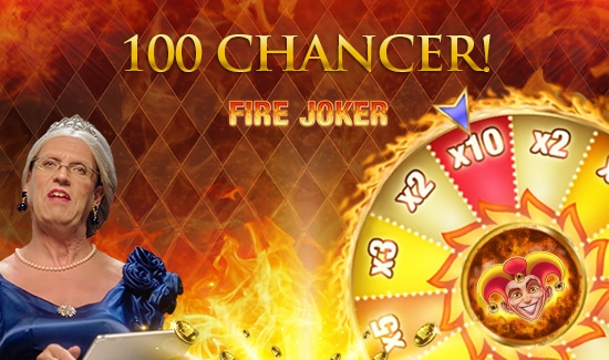 100 Gratis Chancer til Fire Joker