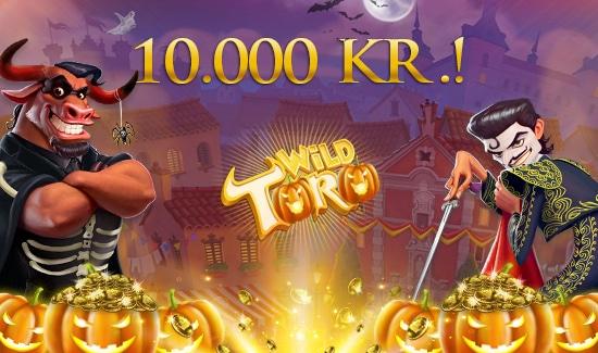 Wild Toro Halloween-Turnering på dansk casino