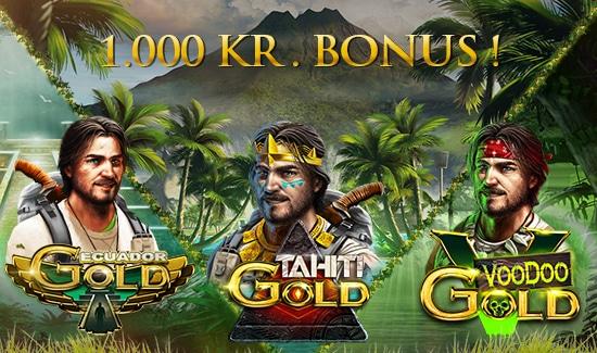 50% weekend bonus op til 1000 kroner