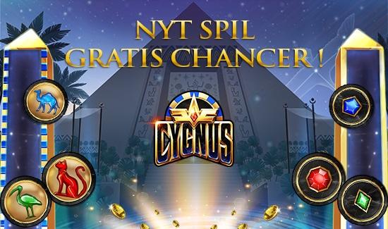 Gratis Chancer til spillet Cygnus