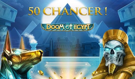 Prøv spillet Doom of Egypt med 50 Chancer