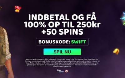 Swift Casino Danmark velkomstbonus