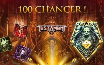 100 Chancer til Testament på Royal Casino