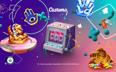Casumo top 3 spilleautomater i 2020