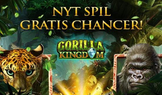 Gratis Chancer til Gorilla Kingdom
