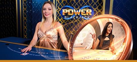 Spil Power Blackjack og vind kontanter