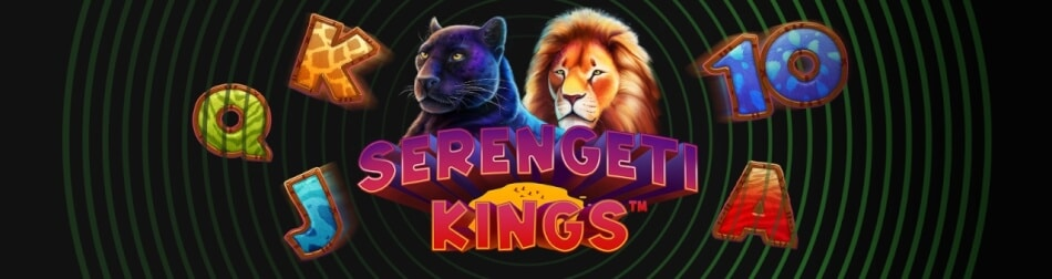 Få gratis Cash Spins til Serengeti Kings
