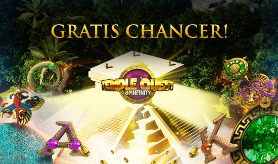 Gratis Chancer til Temple Quest