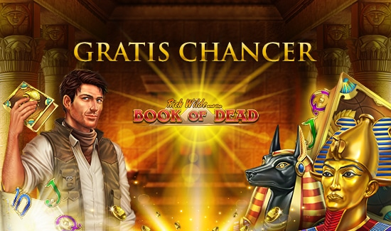 Gratis Chancer til Book of Dead denne weekend