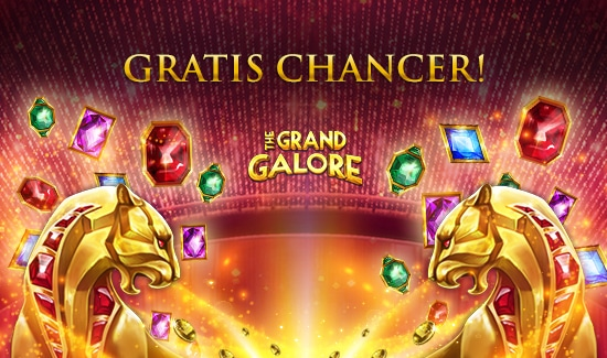 Gratis chancer til The Grand Galore