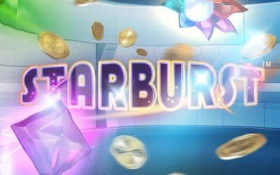 Få op til 100 Cash Spins til Starburst