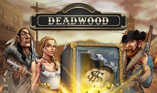 Få gratis chancer til det nye spil Deadwood