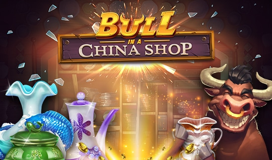 Få 100 Chancer til Bull in a China Shop