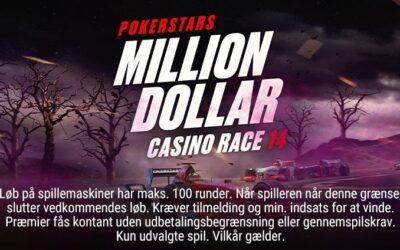 Million dollar casinorace og gratis bonus